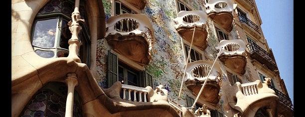 Casa Batlló is one of Barcelona.