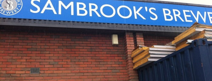 Sambrook's Brewery is one of Pubs - Brewpubs & Breweries.