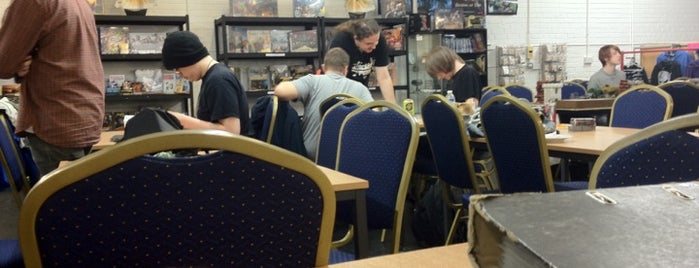 The Scythe and Teacup Gamer Café is one of Board Game Cafes.
