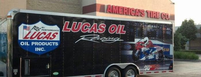 America's Tire is one of Tempat yang Disukai Blake.