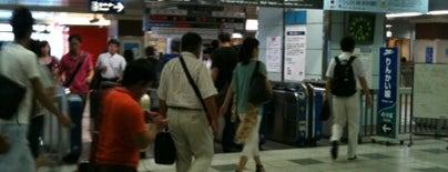 Rinkai Line Shin-kiba Station is one of Lieux qui ont plu à まるめん@下級底辺SOCIO.
