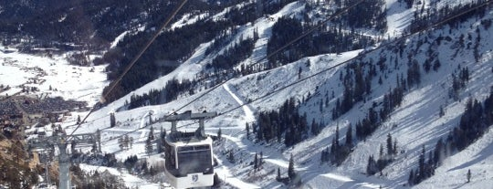Squaw Valley Ski Resort is one of Orte, die David gefallen.