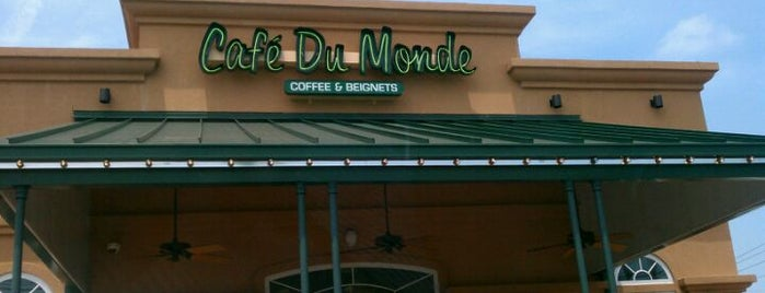 Café Du Monde is one of Coffee shops.