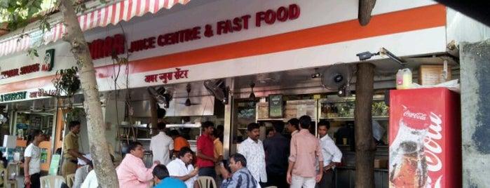 Amar Juice Centre is one of Mumbai food.