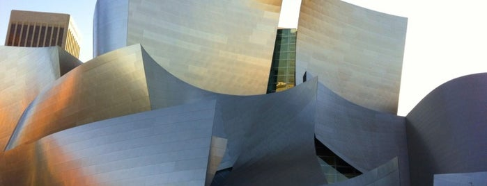 Walt Disney Concert Hall is one of West Coast Sites.