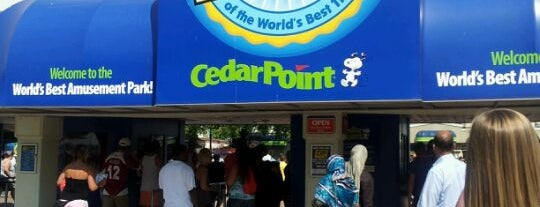 Cedar Point is one of Theme Parks I've Visited.