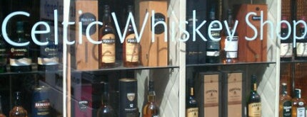 Celtic Whiskey Shop is one of Ireland.