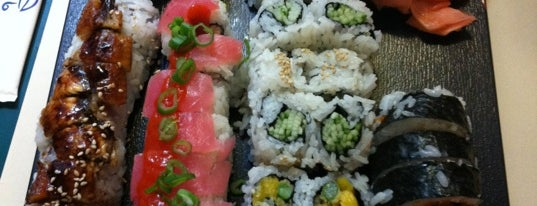 Manpuku Sushi is one of East Bay.