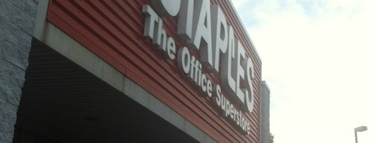 Staples is one of Tempat yang Disukai Kamara.