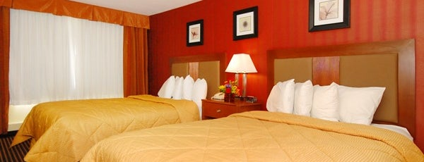 Comfort Inn is one of Sweet Spots of Hershey Harrisburg, PA #visitUS #4s.