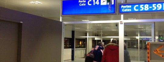 Gate C14 is one of Geneva (GVA) airport venues.