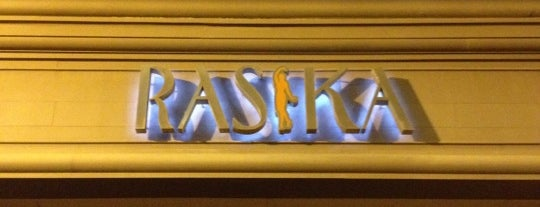 Rasika is one of Washington.