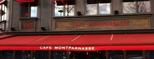 Café Montparnasse is one of Mes restaurants favoris à Paris 2/2.