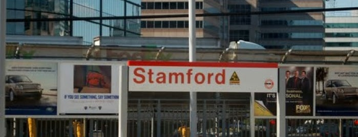 Stamford Transportation Center : Bus/Train (STM) Metro North & Amtrak is one of Charles 님이 저장한 장소.