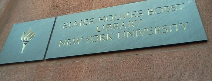 NYU Law School Library is one of A Virtual Map of NYU Student Life.