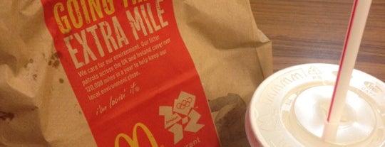 McDonald's is one of Londen.