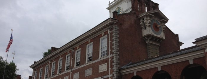 Independence Hall is one of Philadelphia, PA.