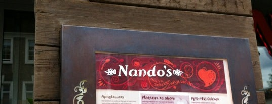 Nando's is one of London 2019.