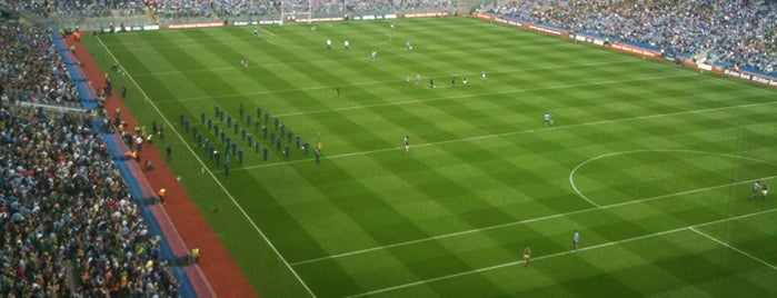 Croke Park is one of In Dublin's Fair City (& Beyond).