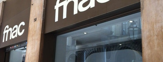 Fnac is one of Shopping sotto la Mole.
