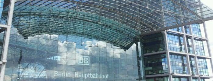 Berlin Hauptbahnhof is one of Trips / Berlin, Germany.
