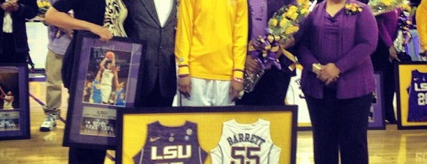 LSU - Pete Maravich Assembly Center (PMAC) is one of Sporting Venues....