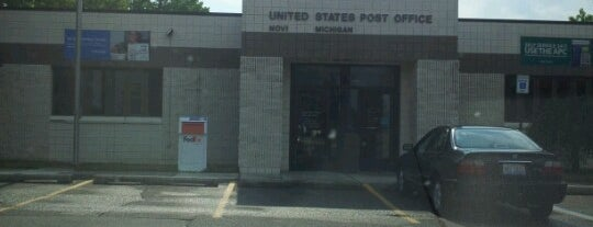 US Post Office is one of Steven'in Beğendiği Mekanlar.