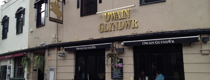 The Owain Glyndwr is one of Locais curtidos por Carl.