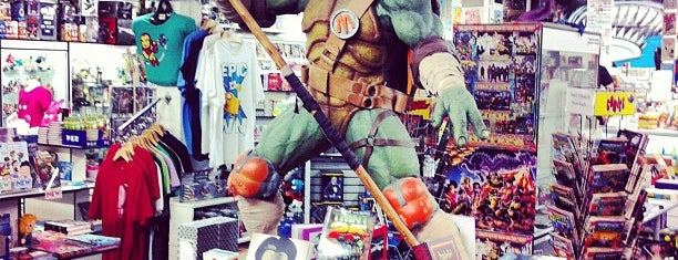 Meltdown Comics and Collectibles is one of LAX.