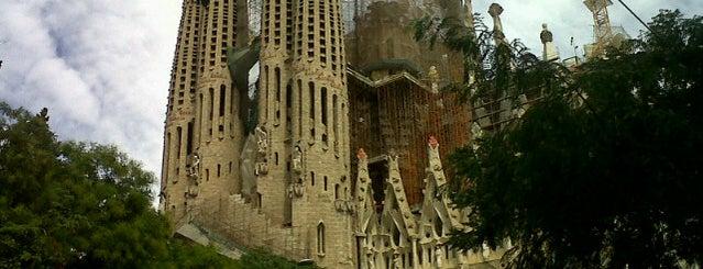 Plaça de la Sagrada Família is one of Barcelona.