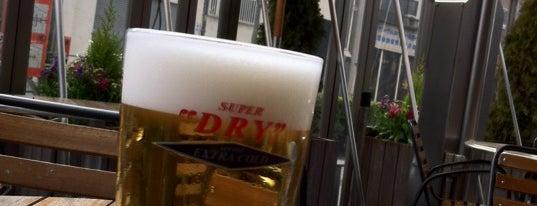 """隅田川バル SUPER """"DRY"""" is one of Allie 님이 저장한 장소."""