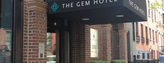 The GEM Hotel is one of Dicas de Nova York.