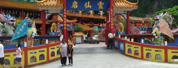 Sam Poh Tong Temple is one of Cameron Highlands.