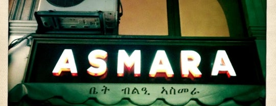 Ristorante Asmara is one of Dove mangiare/bere a Milano.