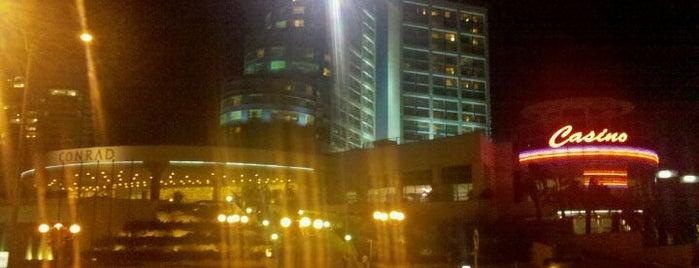 Conrad Punta del Este Resort and Casino is one of My Hotels.