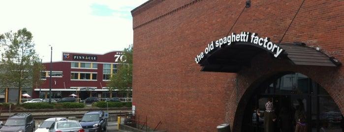 The Old Spaghetti Factory is one of Ebi : понравившиеся места.