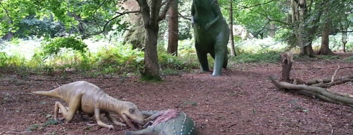 Dinosaur Adventure Park is one of UK without resturants.