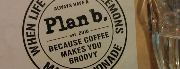 Plan B is one of Kopi Places.