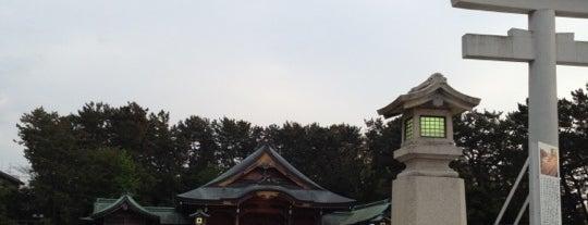 新潟縣護國神社 is one of 日本の白砂青松100選.
