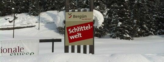 Bahnhof Bergün/Bravuogn is one of Federicoさんのお気に入りスポット.
