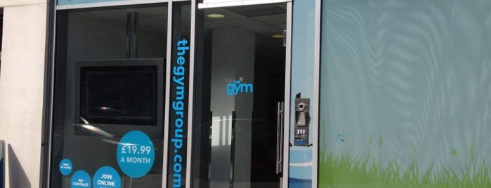 The Gym is one of Get Fit in London.
