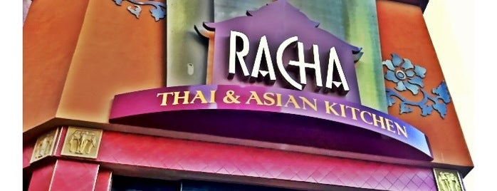 Racha Thai & Asian Kitchen is one of Out with the old.