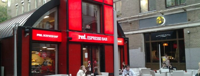 Red. Espresso Bar is one of Lugares guardados de Malina🍓.