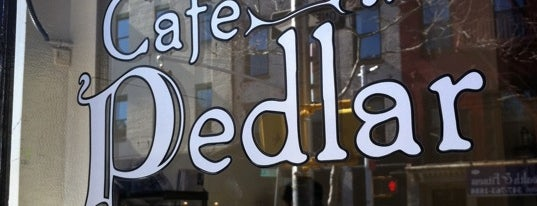 Cafe Pedlar is one of Notable Coffee Shops (NYC).