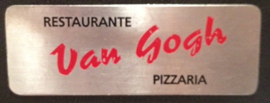 Van Gogh Pizzaria e Restaurante is one of Santos.
