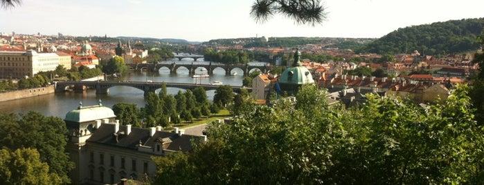 Letenské sady is one of Prague.