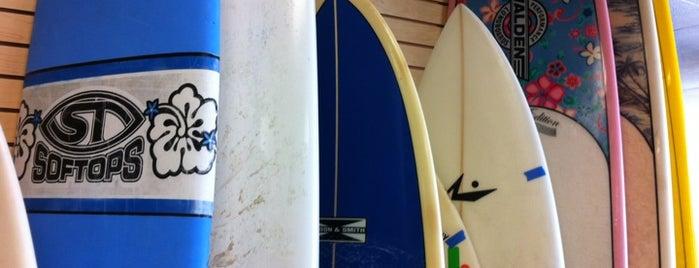 Island Native Surf Shop is one of Orte, die Bob gefallen.