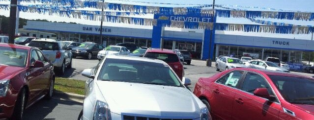Dan Vaden Chevrolet Cadillac is one of Gay-Friendly Auto Dealers in Savannah, GA.