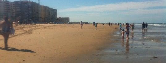 Playa de la Victoria is one of Favourite Places.