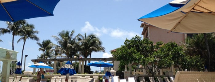Pool is one of Delray.